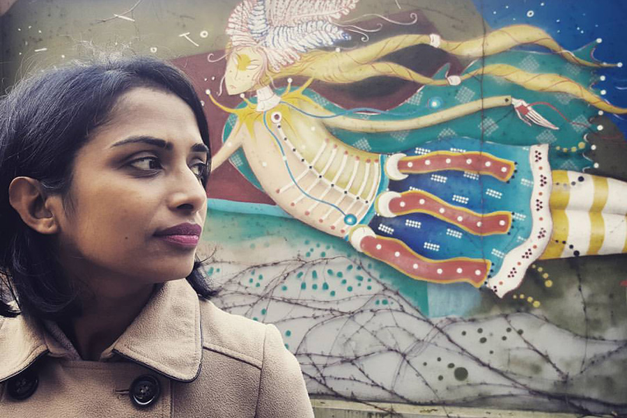INDIAN GIRL IN POLAND